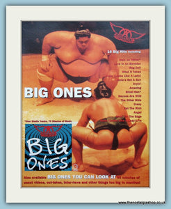 Aerosmith Big Ones 1995 Original Advert (ref AD3123)