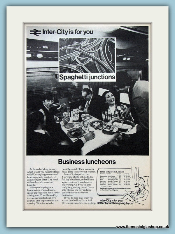 Inter-City Original Advert 1973 (ref AD2287)