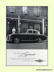 Aston Martin Set Of 2 Original Adverts 1952/55 (ref AD6691)