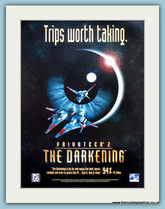 Privateer 2 The Darkening Computer Game Original Advert 1997 (ref AD3978)