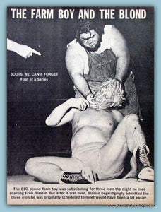 Haystacks Calhoun. Vintage 3 Page Article 1961 (ref AD5025)