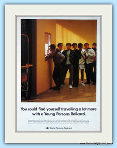 Young Persons Railcard Original Advert 1989 (ref AD6563)