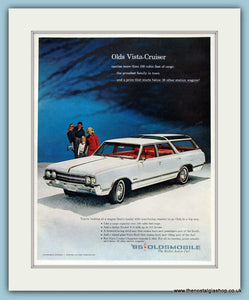 Oldsmobile Vista-Cruiser. Original Advert 1965 (ref AD8232)