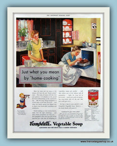 Campbells Vegetable Soup. Original Advert 1935 (ref AD8162)