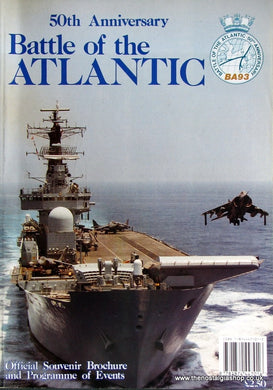 Battle of The Atlantic 50th Anniversary Brochure. (ref B86)