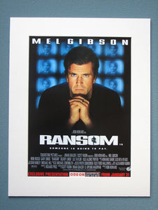 Ransom 1997 Original advert (ref AD773)