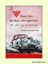 Load image into Gallery viewer, Alvis Set of 2 Original Adverts 1952/53 (ref AD6632)