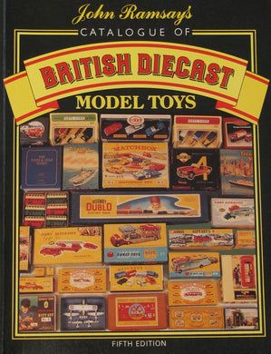British Diecast Model Toys Catalogue (ref b17)