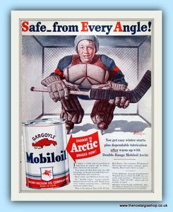 Mobiloil Original Advert 1940 (ref AD8096)