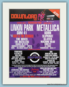 Download Music Festival  Advert 2004 (ref AD3374)