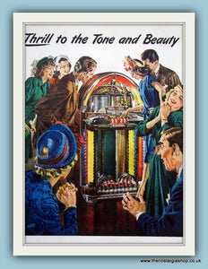 Wurlitzer. Original Advert 1950s (ref AD8185)