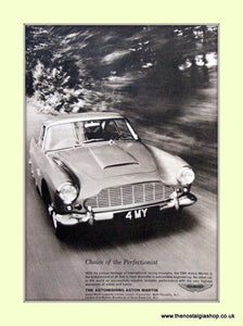 Aston Martin DB4 Original Advert 1962 (ref AD6692)