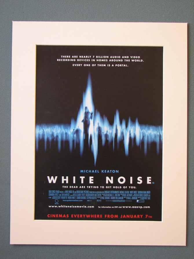 White Noise 2005 Original advert (ref AD420)