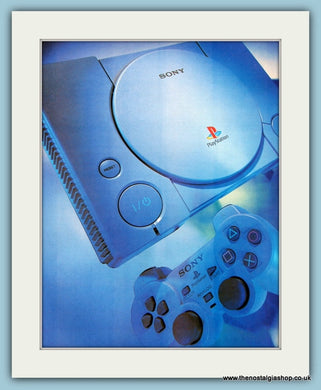 Sony Playstation Original Advert 2001 (ref AD4017)