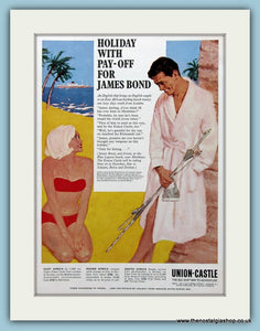 Union-Castle Cruise Original Advert 1963 (ref AD2304)