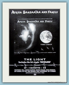 Afrika Bambaataa And Family 1988 Original Advert (ref AD3067)