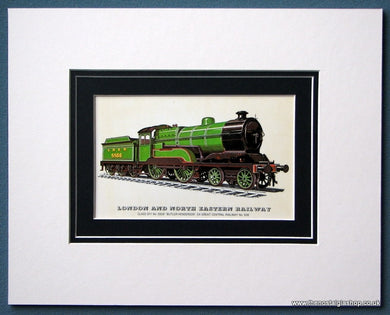 London And North Eastern Railway 'Butler-Henderson' Mounted Print (ref SP75)