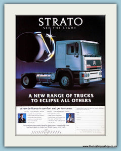 Strato Trucks Original Advert 1988 (ref AD2941)