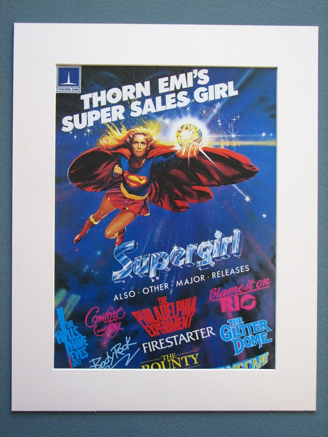Supergirl Sales advert 1985 (ref AD742)