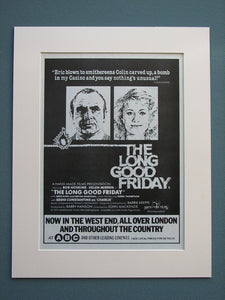 The Long Good Friday 1981 Original advert (ref AD635)
