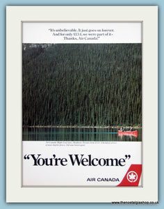 Air Canada Original Advert 1985 (ref AD2167)