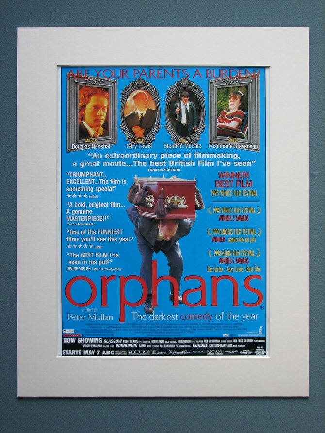 Orphans Original Advert 2001 (ref AD760)
