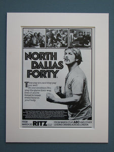 North Dallas Forty 1980 Original advert (ref AD684)