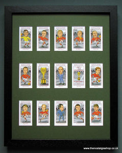 England World Cup Winners 1966. Football Card Set.