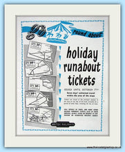 Load image into Gallery viewer, British Railways Set Of 2 Original Adverts 1955 (ref AD6540)