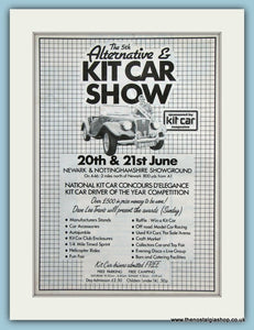 Kit Car Show Newark Original Advert 1987 (ref AD2001)