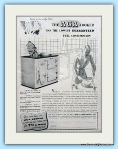 AGA Cooker. Original Advert 1939 (ref AD4754)