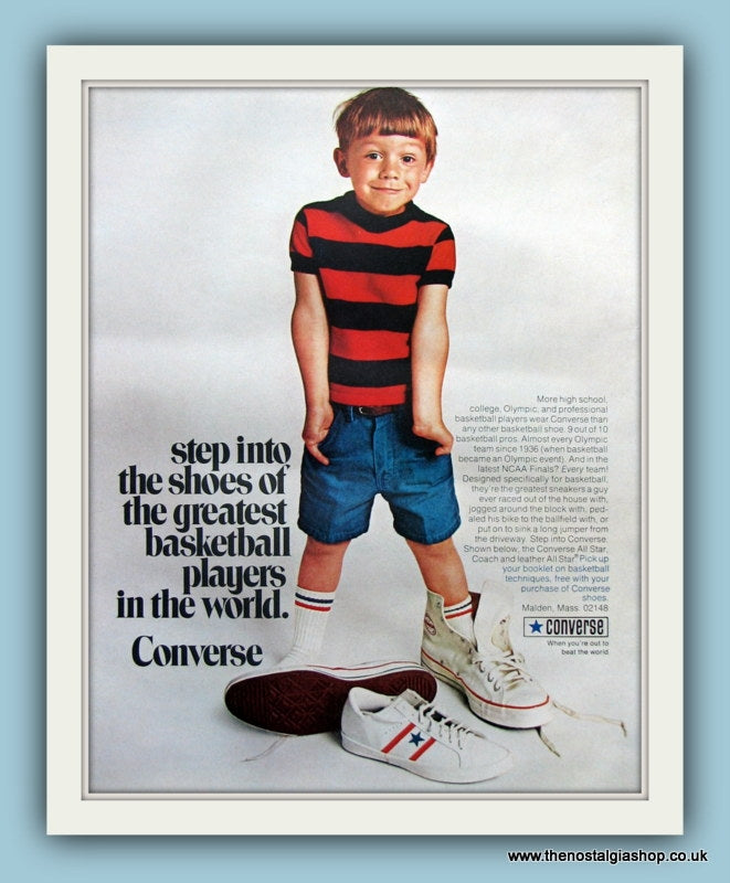 Converse Shoes. Original Advert 1970 (ref AD8193)