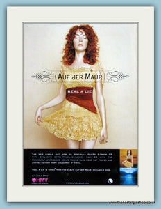Auf Der Maur Real A Lie 2004 Original Advert (ref AD2931)