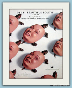 Beautiful South 0898 Original Music Advert 1992 (ref AD3429)