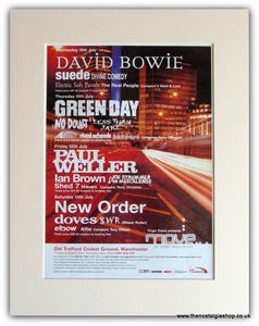 Move an Urban Music Event 2002 Manchester David Bowie (ref AD1755)