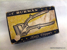 Load image into Gallery viewer, Burman Hair Clippers 1960s Boxed (ref Nos108)