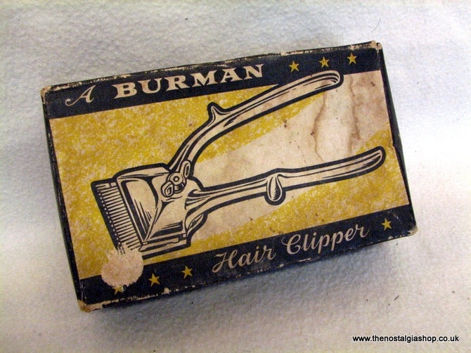 Burman Hair Clippers 1960s Boxed (ref Nos108)