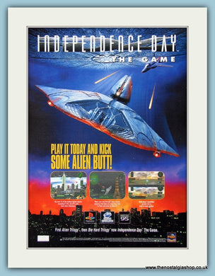 Independence Day. 1997 Original Advert (ref AD4028)