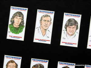 Tottenham Heroes and Legends. Football Card Set.