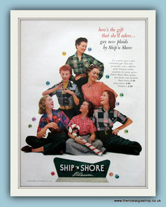 Ship n Shore Blouses. Original Advert 1951 (ref AD8190)