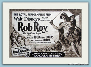 Rob Roy starring Richard Todd. 1953 Original Advert (ref AD3200)