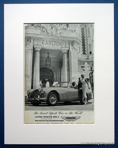 Aston Martin DB2-4 Drophead Coupe 1954 Original Advert (ref AD1443)