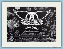 Load image into Gallery viewer, Aerosmith Set of 4 Original Adverts. (ref AD3115)