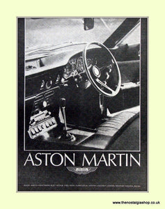 Aston Martin Original Advert 1968 (ref AD6699)