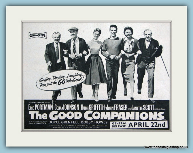 The Good Companions 1957 Original Advert (ref AD3195)