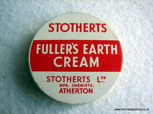 Load image into Gallery viewer, Fuller's Earth Cream Tin. (ref Nos024)