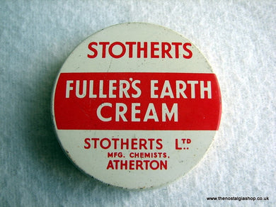 Fuller's Earth Cream Tin. (ref Nos024)