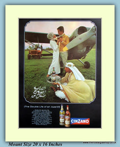 Cinzano Vermouth Original Advert 1968 (ref AD9419)