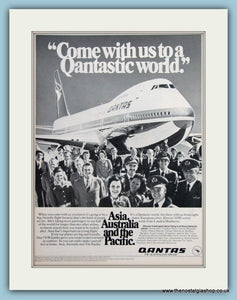 Quantas Airline Original Advert 1976 (ref AD2176)