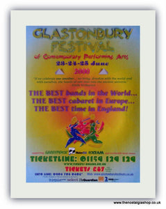 Glastonbury Festival Advert 2000 (ref AD1834)